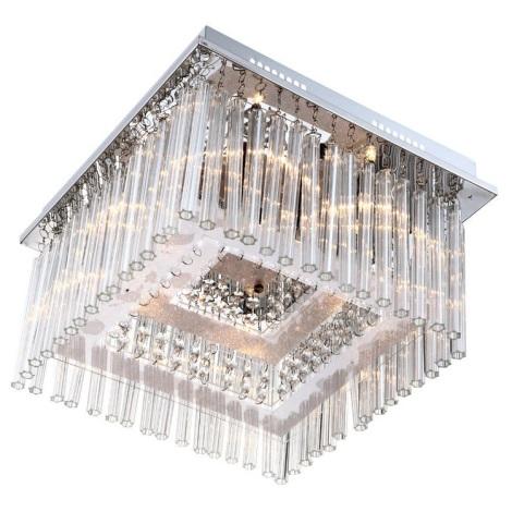 Globo 68567-6 - Křišťálové stropní svítidlo VINCE LED  6xG4/20W +80xLED/0,06W