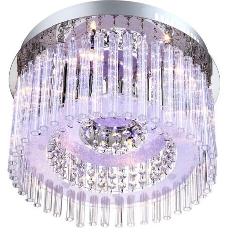 GLOBO 68568-6 - LED Stropní svítidlo JOYCE 6xG4/20W, 76xLED/0,06W