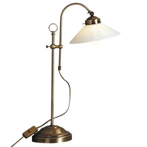 Globo 6871 - Stolní lampa  LANDLIFE E14/40W/230V
