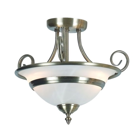 GLOBO 6896-2 - Přisazený lustr TOLEDO 2xE27/60W/230V