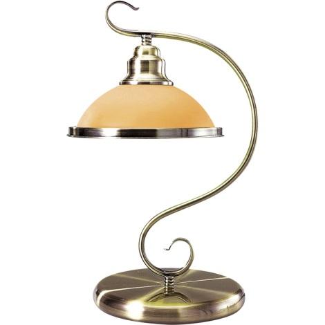 GLOBO 6905-1T - Stolní lampa SASSARI 1xE27/60W