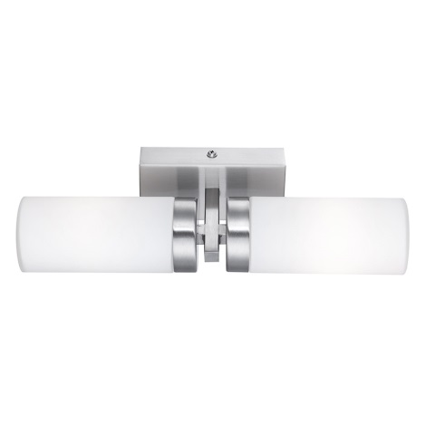 Globo 7816 - Koueplnové nástěnné svítidlo SPACE 2xE14/40W/230V