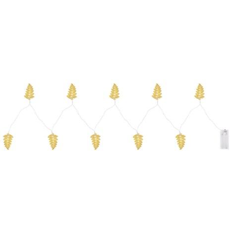 Globo - LED Dekorační řetěz 10xLED/0,03W/2xAA
