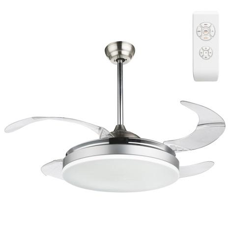 Globo - LED Stropní ventilátor s dálkovým ovladačem LED/36W/230V