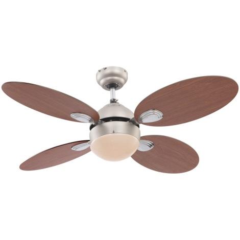 Globo - Stropní ventilátor 1xE14/60W/230V
