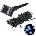 Grundig 2 - LED Solární řetěz 50xLED/1,2V IP44 modrá IP44