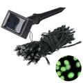 Grundig 2 - LED Solární řetěz 50xLED/1,2V IP44 zelená IP44