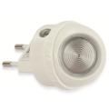 Grundig 70 – LED Noční světlo do zásuvky se senzorem 1xLED/0,4W/230V