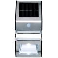 Grundig - LED Solární nástěnné svítidlo se senzorem 1xLED IP44