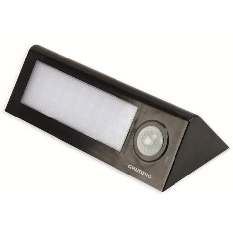 Grundig - LED Solární svítidlo se senzorem 36xLED/2W/5,5V IP44
