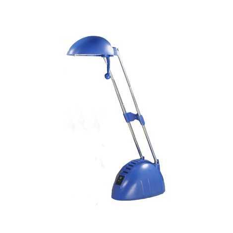 Halogen.stol. lampa BEN 1xG4/20W modrá