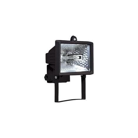 Halogenový reflektor HALO 150B 1xR7s/150W černá - GXER008