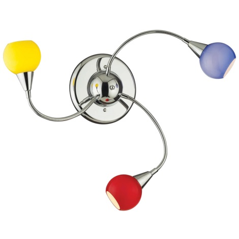 Ideal Lux 006543 - Bodové svítidlo TENDER 3xE14/40W/230V