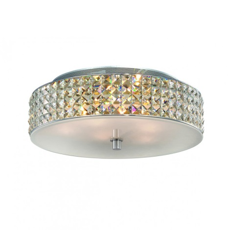 Ideal Lux 00657 - Křišťálové stropní svítidlo ROMA PL6 6xG9/40W/230V