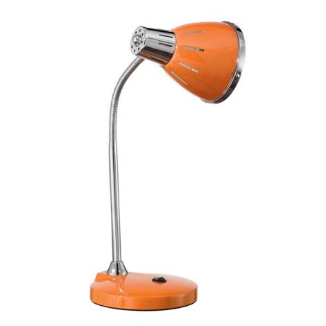 Ideal Lux 015262 - Stolní lampa ELVIS 1xE27/60W/230V oranžová