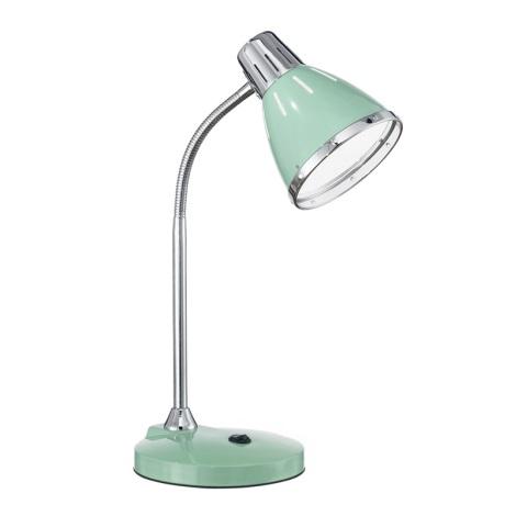 Ideal Lux 026725 - Stolní lampa ELVIS 1xE27/60W/230V zelená