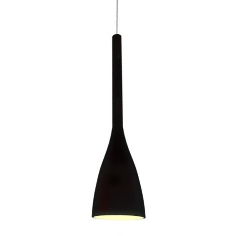 Ideal Lux 035680 - Lustr FLUT 1xE27/60W/230V černá