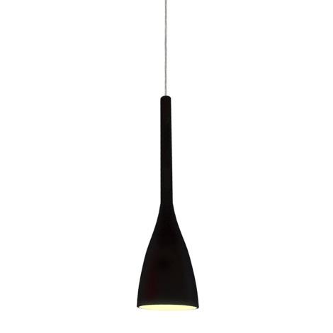 Ideal Lux 035710 - Lustr FLUT 1xE14/40W/230V černá