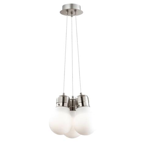 Ideal Lux 082011 - Lustr na lanku LUCE 3xE27/60W/230V