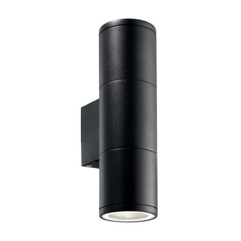 Ideal Lux 100395 - Venkovní nástěnné svítidlo GUN 2xGU10/35W/230V