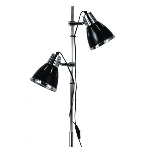 Ideal Lux 1197 - Stojací lampa ELVIS 2xE27/60W/230V
