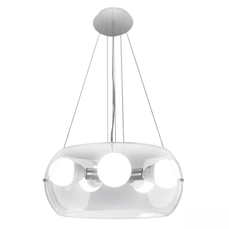 Ideal Lux 16863 - Lustr na lanku AUDI-10 SP5 5xE27/60W/230V