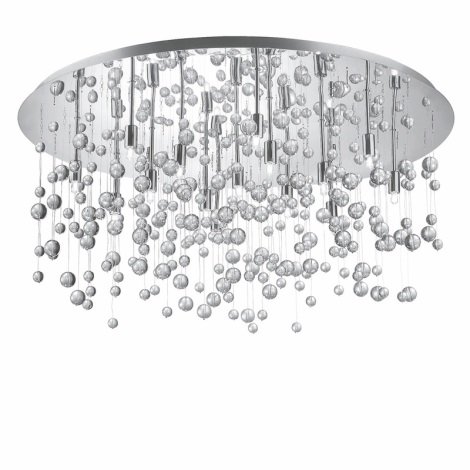 Ideal Lux 30784 - Stropní svítidlo NEVE PL15 15xG9/40W/230V