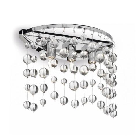 Ideal Lux 33938 - Nástěnné svítidlo NEVE 3xG9/40W/230V