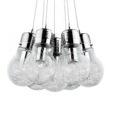 Ideal Lux 81779 - Lustr LUCE MAX 7xE27/60W/230V