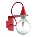 Ideal Lux - Nástěnné svítidlo 1xE27/42W/230V červená