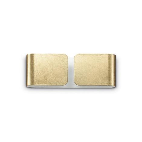 Ideal Lux - Nástěnné svítidlo 2xG9/28W/230V zlatá