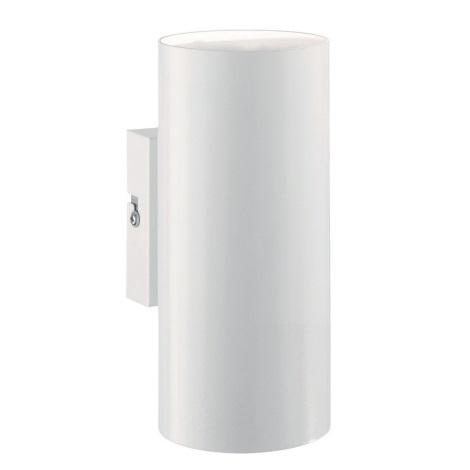 Ideal Lux - Nástěnné svítidlo 2xGU10/28W/230V bílá