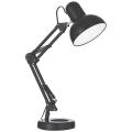 Ideal Lux - Stolní lampa 1xE27/40W/230V černá