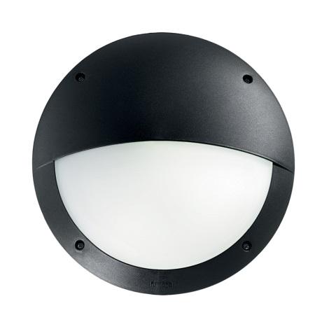 Ideal Lux - Technické svítidlo 1xE27/23W/230V černá IP66