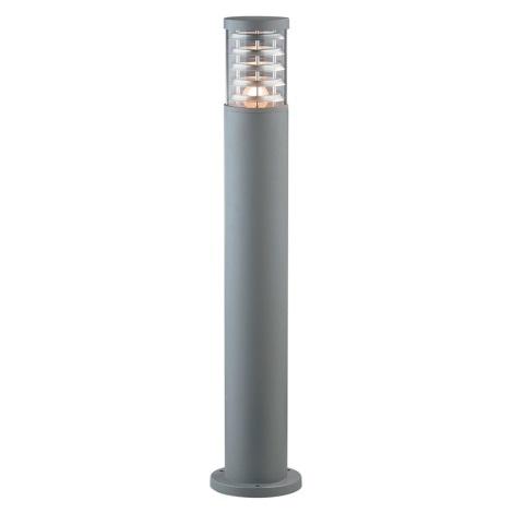 Ideal Lux - Venkovní lampa 1xE27/60W/230V šedá 800 mm IP44