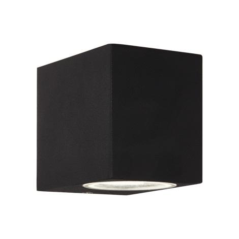 Ideal Lux - Venkovní nástěnné svítidlo 1xG9/28W/230V černá IP44