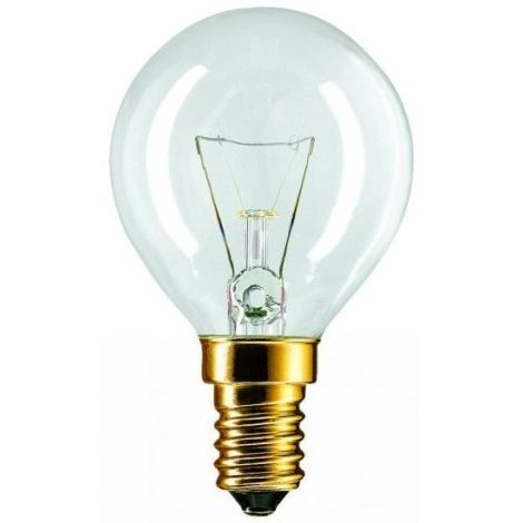 Iluminační žárovka E14/60W čirá