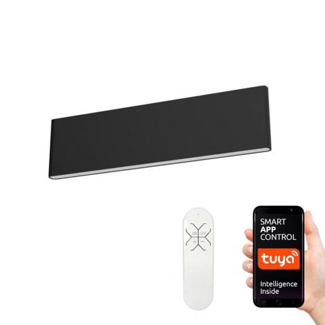Immax NEO 07086L - LED Stmívatelné nástěnné svítidlo LISTON LED/8W/230V černá + DO Tuya