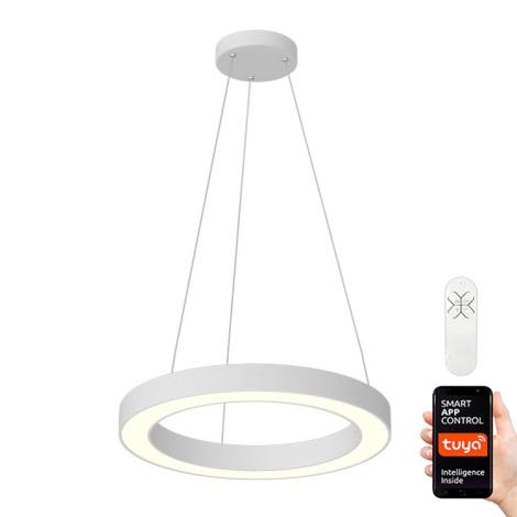 Immax NEO 07091L - LED Stmívatelný lustr na lanku PASTEL LED/52W/230V 60 cm bílý Tuya