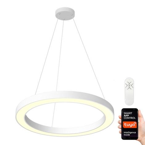Immax NEO 07092L - LED Stmívatelný lustr na lanku PASTEL LED/66W/230V 95 cm + DO Tuya