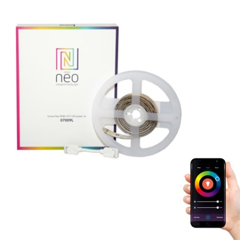 Immax NEO - LED RGB Pásek LED-RGB/24V IP65 1m ZigBee