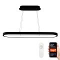 Immax NEO - LED Stmívatelný lustr na lanku HIPODROMO LED/42W/100-240V 30x120 cm