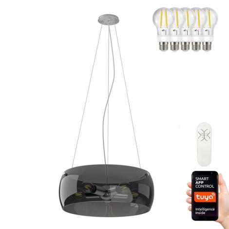 Immax NEO - LED Stmívatelný lustr na lanku OPTICO 5xE27/8,5W/230V 50 cm
