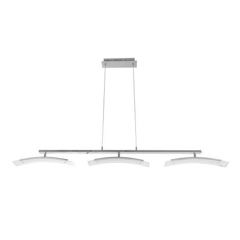 ITALUX - LED Lustr na lanku ADELE 3xLED/8W/230V