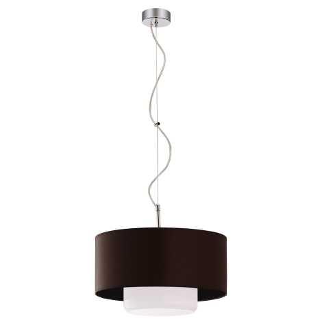 JUPITER 1117-AV1 - Závěsné svítidlo AVEO 1xE27/60W wenge bílé sklo