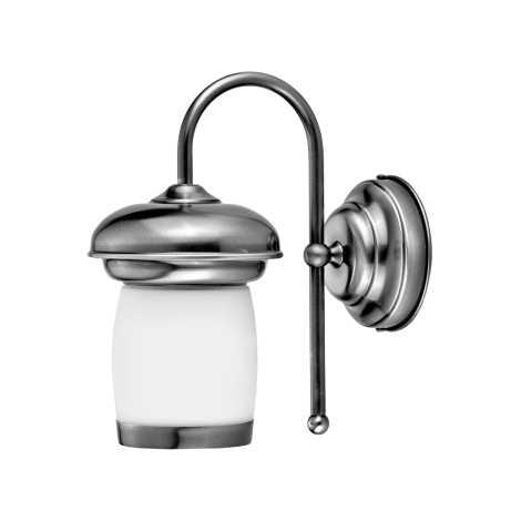 JUPITER 1267-LIVK - Nástěnné svítidlo LIV 1xE27/60W stříbrná