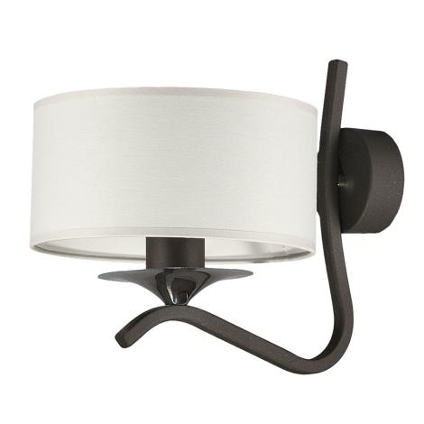 JUPITER 1280-KSKG - Nástěnné svítidlo KASZMIR 1xE27/60W