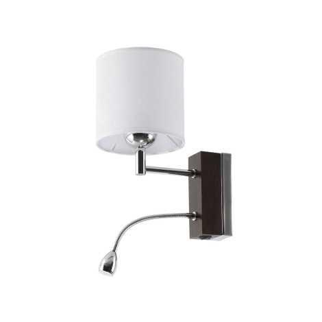 Jupiter 1419 - MAK V - LED nástěnné svítidlo MANGO 1xE27/60W + LED/1W/230V
