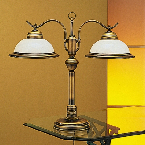 Jupiter 17 - OG2 - Lampa stolní OPÁL 2xE27/60W/230V