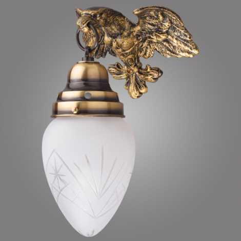 Kemar OK60/P - Nástěnné svítidlo OURO EAGLE 1xE27/60W/230V